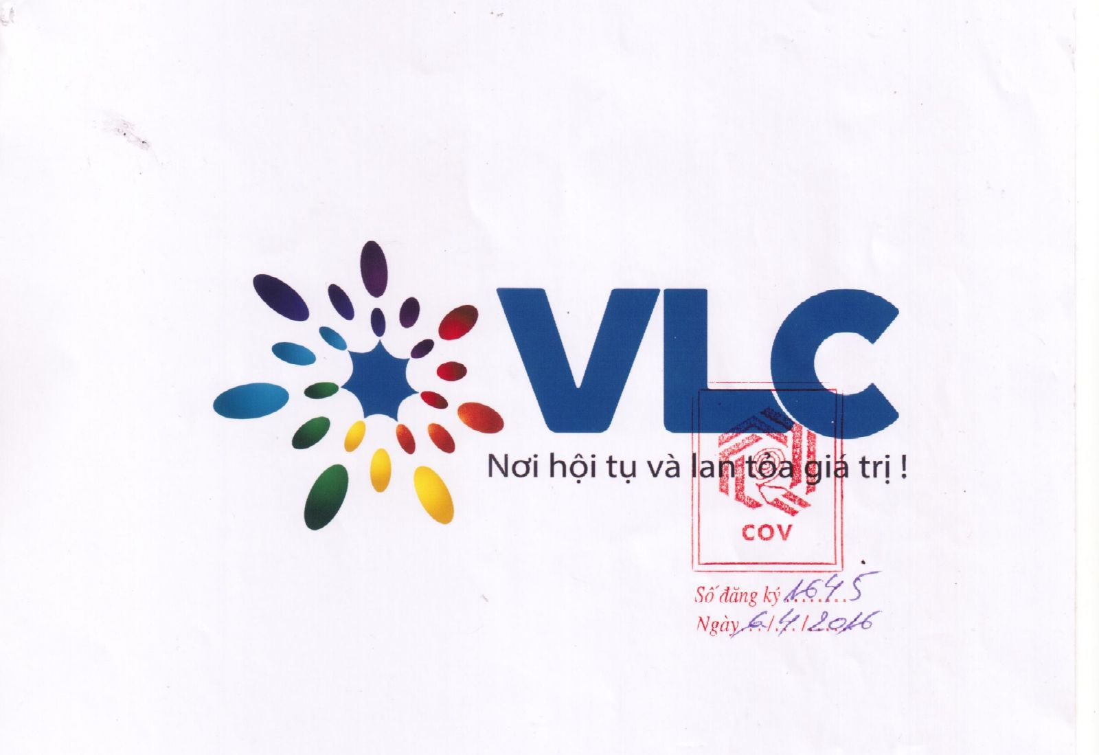 Đăng ký bản quyền tác giả logo VLC