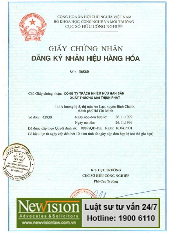 gia hạn giấy chứng nhận đăng ký nhãn hiệu