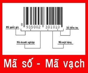 Vai trò đăng ký mã số mã vạch