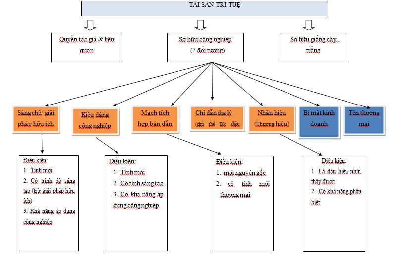 sơ đồ đăng ký sở hữu trí tuệ Tại Việt Nam