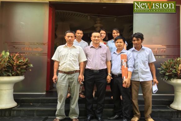 Hình ảnh buổi gặp gỡ giữa Luật sư Hãng luật NewVision Law/TGS và các đại diện của các Hợp  tác xã tại Huyện Lạng Giang, Tỉnh Bắc Giang.