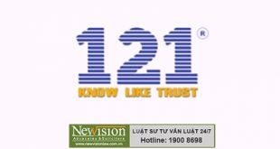 Đại diện đăng ký nhãn hiệu cho Công ty vận tải xây dựng 121