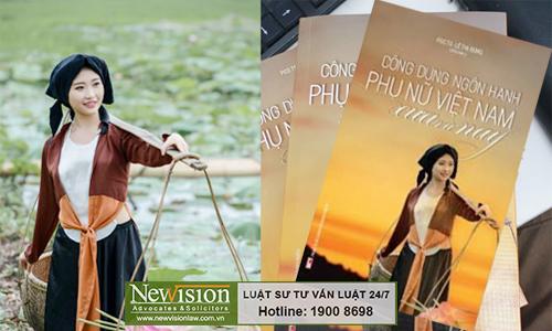 Ảnh bìa cuốn sách Công dung ngôn hạnh phụ nữ Việt Nam xưa và nay