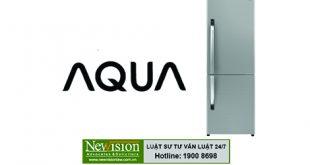 Đại diện đăng ký bảo hộ độc quyền sáng chế mang tên Tủ Lạnh AQua