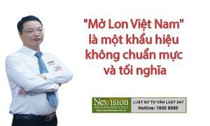 mở lon Việt nam